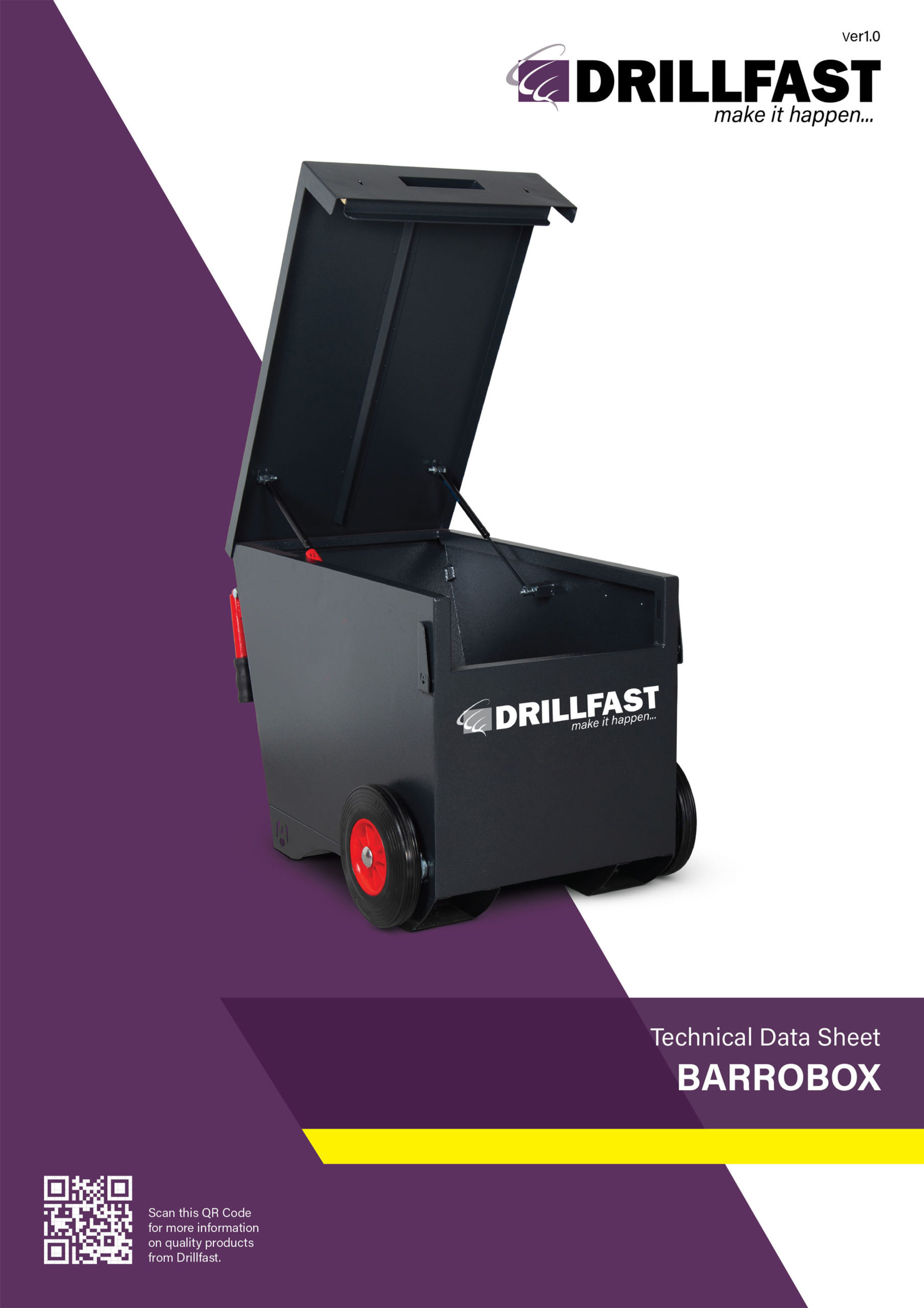 Armorgard barrobox drillfast on-site storage solutions