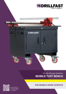 Armorgard mobile tuff bench