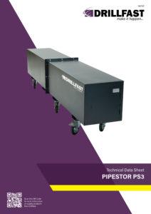 Armorgard Pipestor 3 Technical data sheet