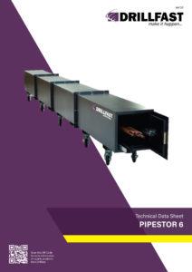 Armorgard Pipestor 6Technical data sheet