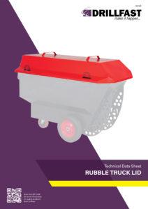 Armorgard Rubble truck lid Technical data sheet