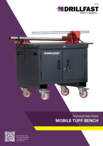 Armorgard mobile tuff bench drillfast on-site storage solutions