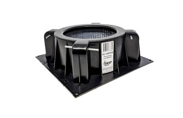 22CIC-UL100FWS Ultra low Floor Waste cast in fire collar