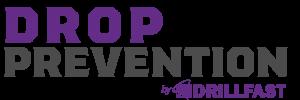 Drop prevention logo drillfast